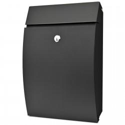 D3688 poštovní schránka černá
