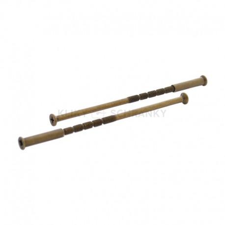 Montážní šrouby spojovací 110mm bronz ZP2