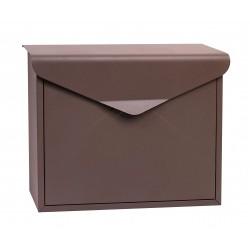 BK.57.HM poštovní schránka hnědá RICHTER CZECH