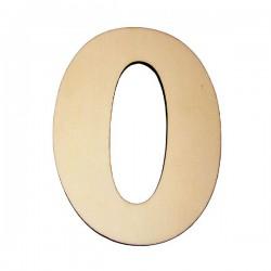 Domovní číslo popisné Dřevěné přírodní - č.0