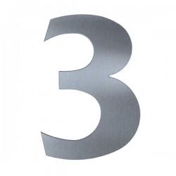 Domovní číslo popisné Nerez - č.3