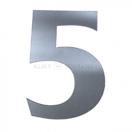 Domovní číslo popisné Nerez - č.5