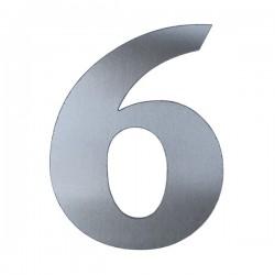 Domovní číslo popisné Nerez - č.6