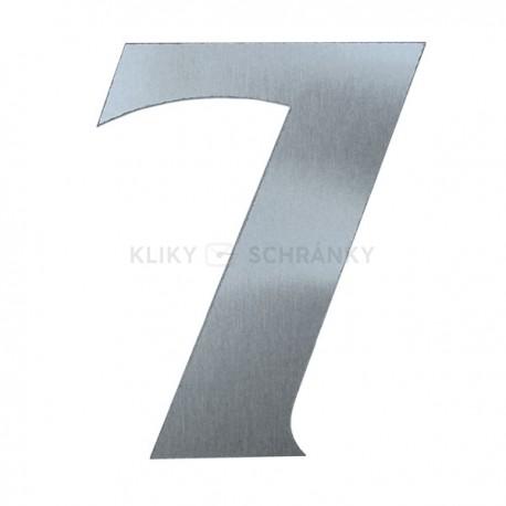 Domovní číslo popisné Nerez - č.7
