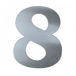 Domovní číslo popisné Nerez - č.8