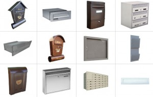 Vybíráte poštovní schránku?